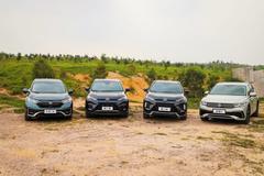 """7大越野关卡,哪款城市SUV能轻松挑战并冠以""""威力四驱""""称号?"""